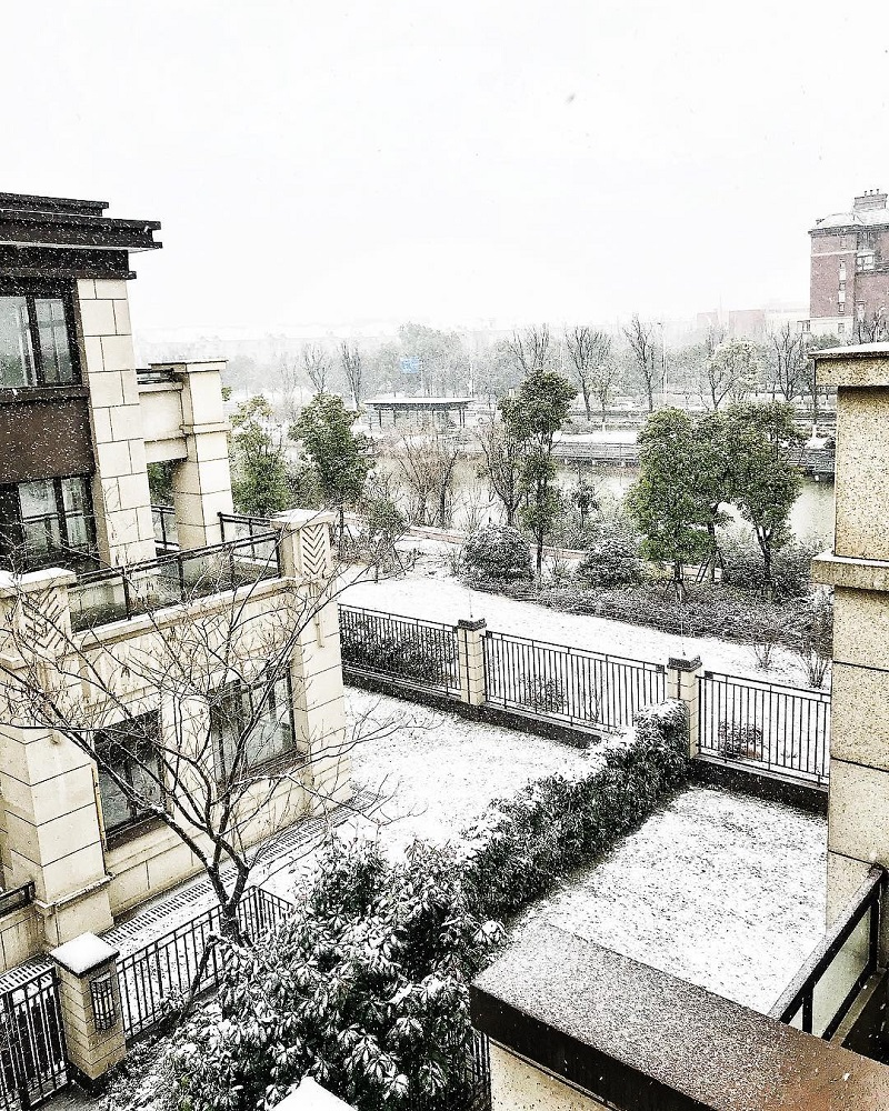 Snow in China