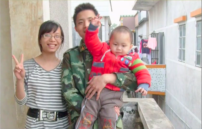 wife and son of chinese construction worker denied visa to attend funeral