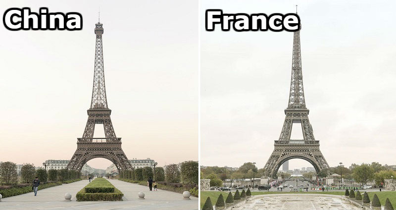 can you tell the difference between china s fake paris and the