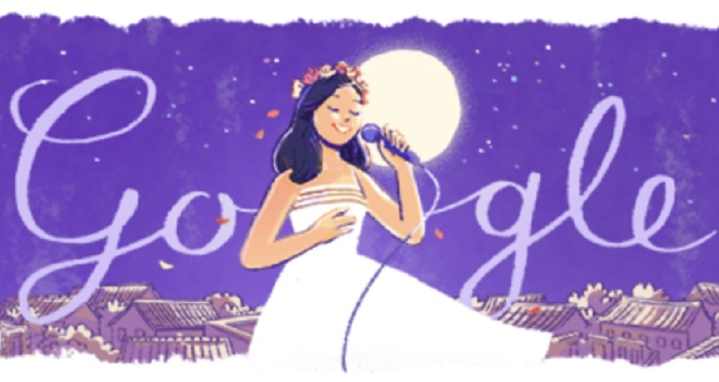 taiwanese pop singer honored in google doodle