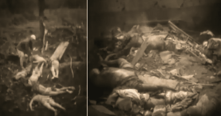 Scholars Release New Footage of Korean Sex Slaves Massacred By
