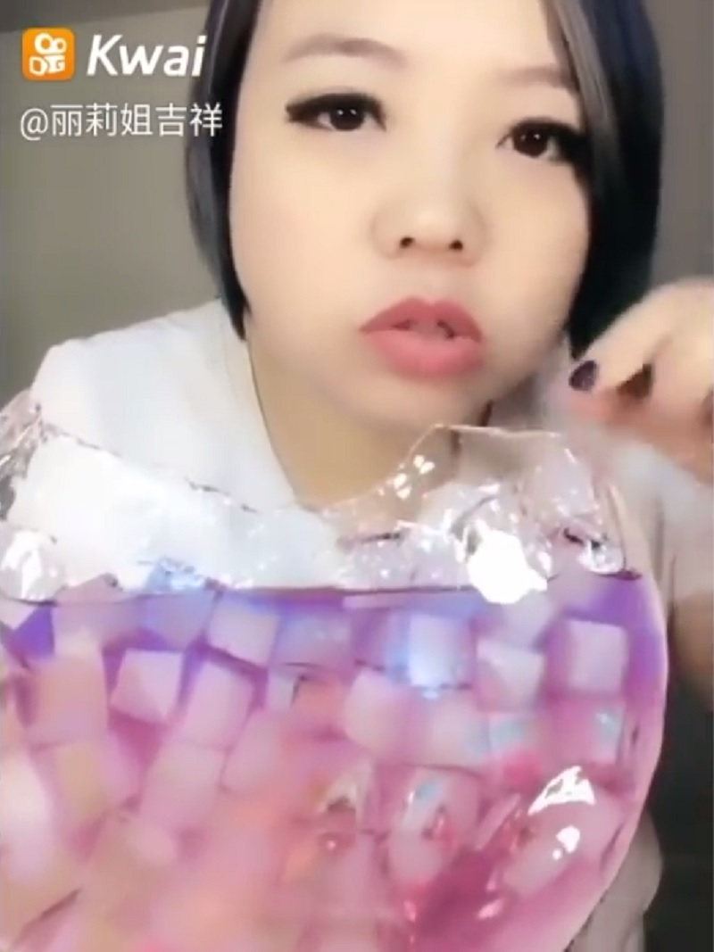 Eating Colorful Ice is Now a Viral Trend in China
