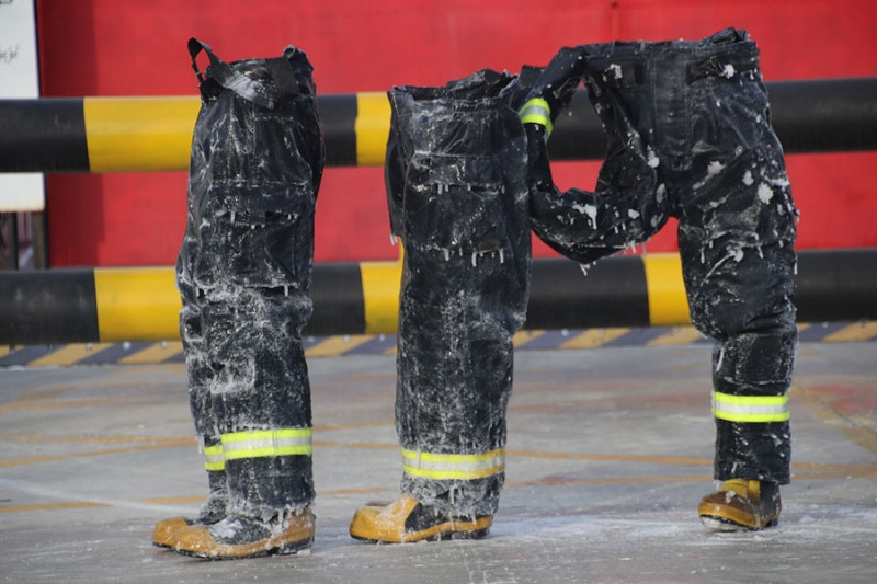 chinese firefighters