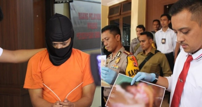 indonesian murder suspect faces life imprisonment after strangling pregnant neighbor