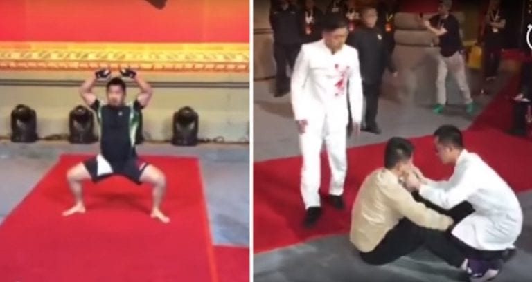Controversial MMA Fighter Defeats 'Ip Man Descendant' to