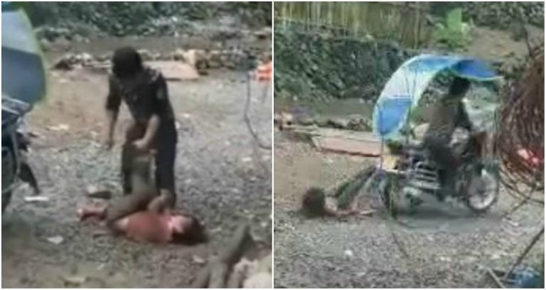 Father in China Caught on Video Brutally Beating and
