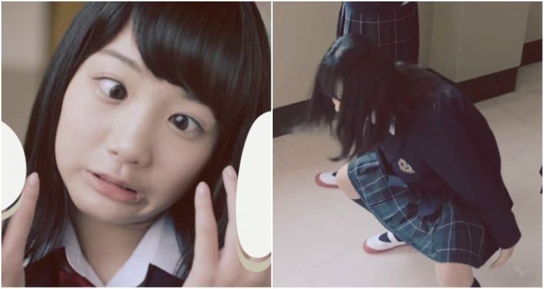 617da0e2ee0c Japanese Company Teaches Schoolgirls How to Pick Panties Out of ...