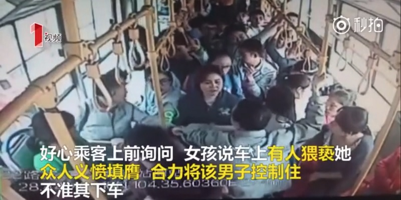 Man Molests Schoolgirl on Bus, Driver Takes Him Straight to the