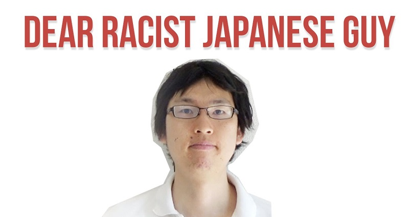 This Japanese Douchebag Has No Business Talking About Race In America