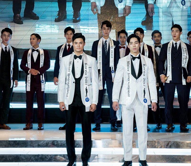 South Korean Man Wins One of the Largest Male Beauty Pageants in the
