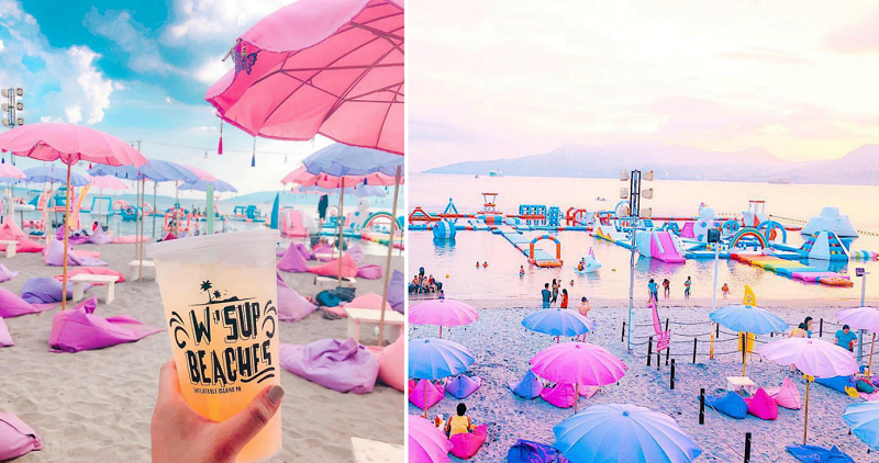 Floating Water Park In The Philippines Is Literally Made