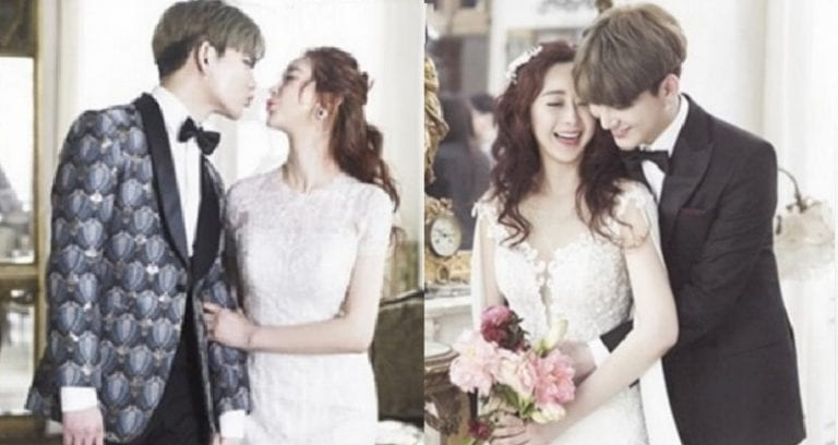 South Korean Actress Marries Chinese Idol 18 Years Younger Than Her