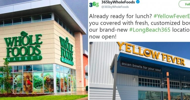 Whole Foods Gets Roasted on Twitter Over 'Yellow Fever