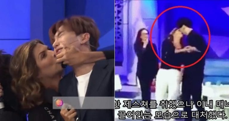 Mexican Talk Show Host Under Fire for Forcefully Kissing Super