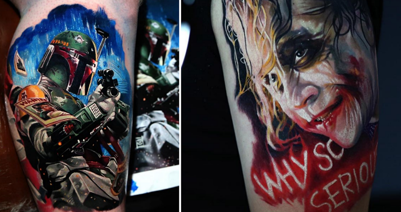 Korean Artist\'s Hyper-Realistic Tattoos Might Make You Want One Too