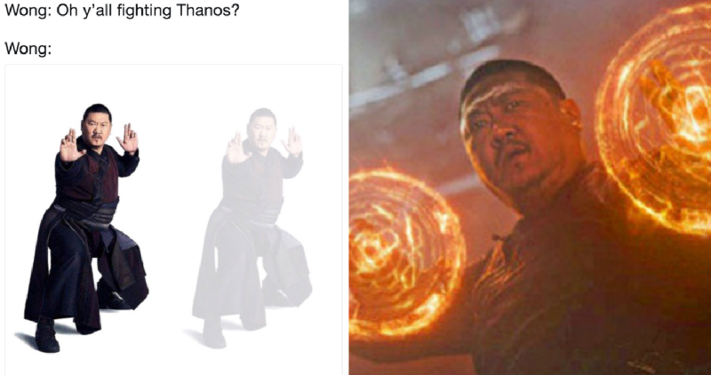 Twitter is Now Full of Hilarious Memes About Wong in 'Avengers