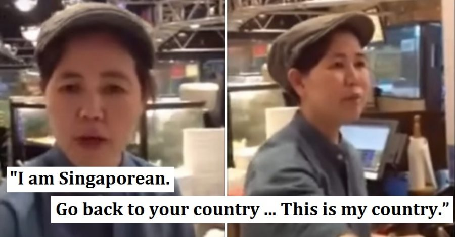Singaporean Man Telling Chinese Worker to 'Go Back to Your Country' Goes Viral Again