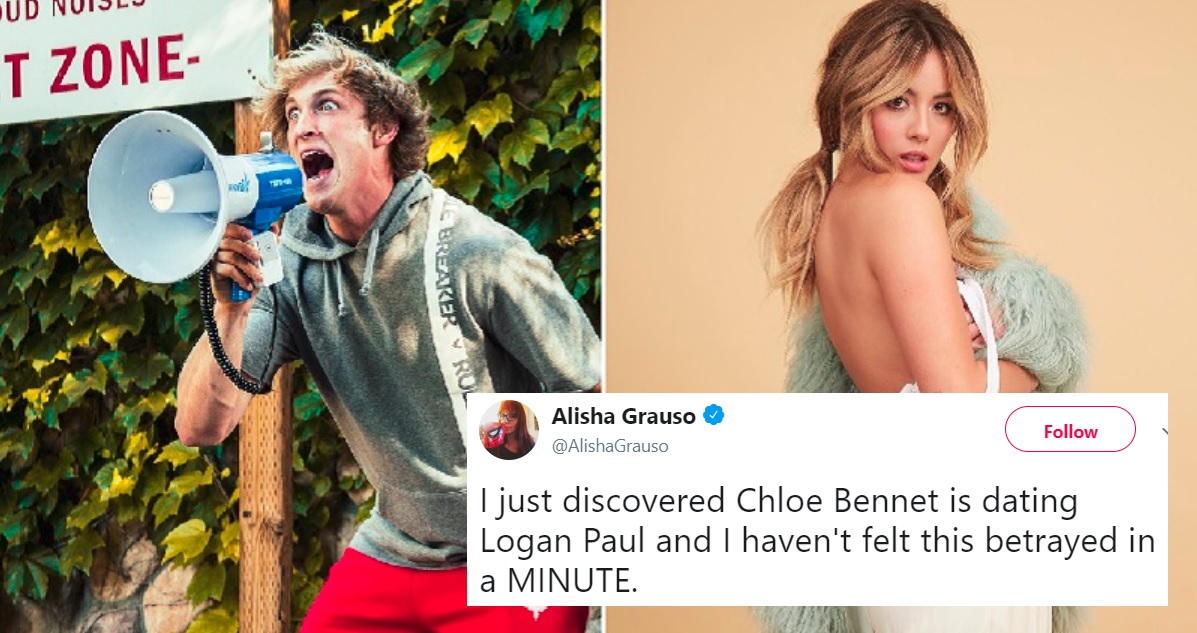 Chloe Bennet and Logan Paul are Reportedly Back Together and Twitter Has Feelings
