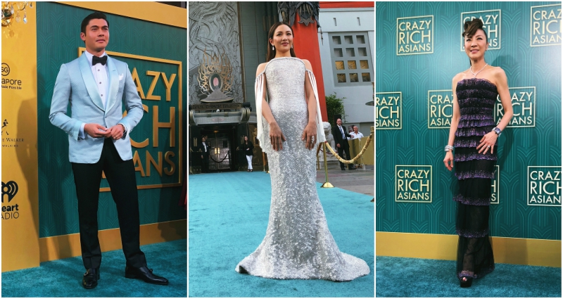 The Crazy Rich Asians Premiere Just Set A New Standard