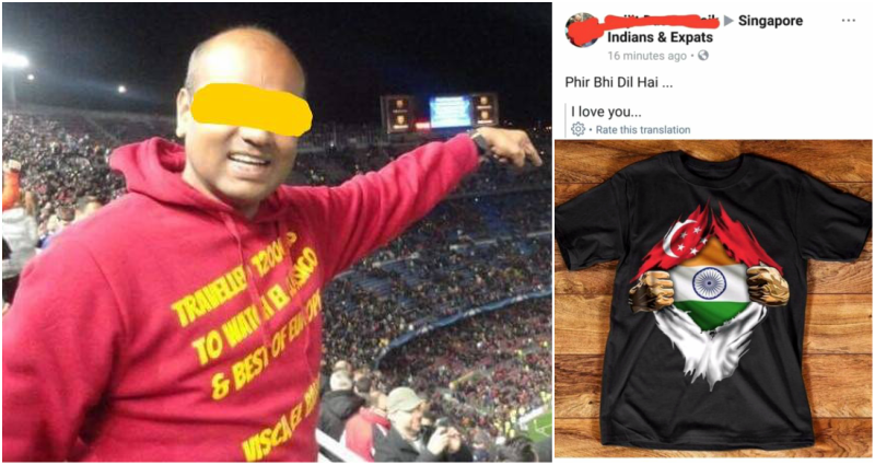 Why Singapore is Outraged Over This Picture of a T-Shirt on Facebook