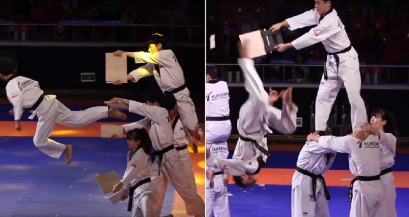 South Korean Taekwondo Team Goes Viral With Their Epic Martial Arts Skills