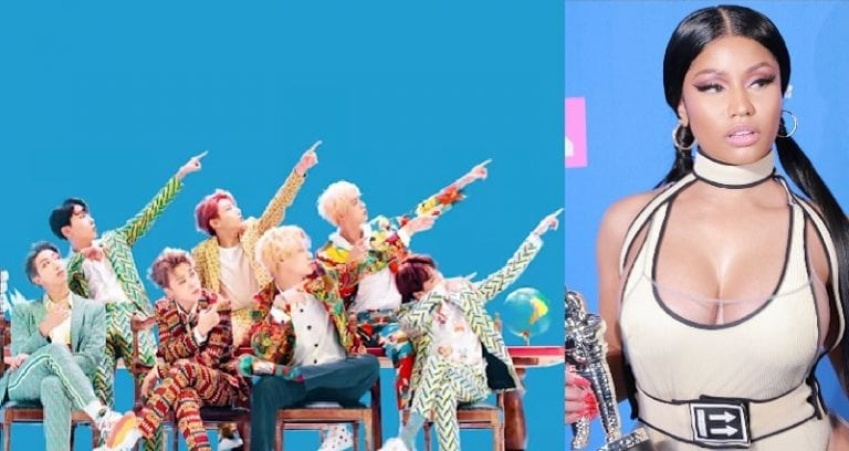 BTS Features Nicki Minaj on New Song 'IDOL' and People are
