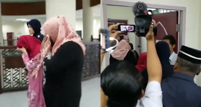 Women Receive Caning Punishment In Malaysia After Getting Caught Being Lesbian-8719