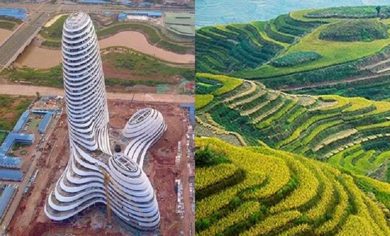 Newly Erected Building in China Looks Like a Huge Penis that Shoots Out Fireworks