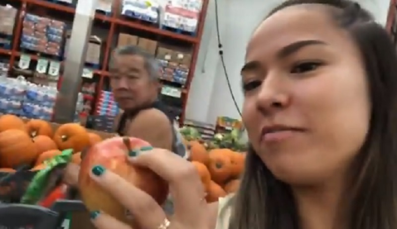 Cheesy Video of Woman Grocery Shopping With Her Dad Will