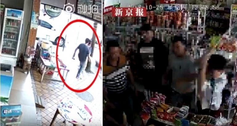 Thugs B‌‌e‌‌a‌‌t Up Shop Owner For Scolding Kid Pe‌ei‌ng