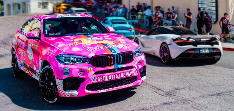 Uber Driver Builds Hello Kitty Car To Find His Future Wife