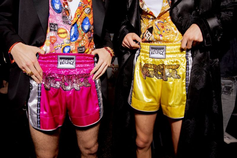 041605a6 Versace Accused of Cultural Appropriation After Debuting Thai Boxing ...