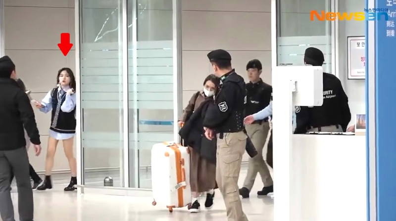 A female fan came under fire after allegedly stalking K-Pop powerhouse BTS at an airport in South Korea earlier this week.