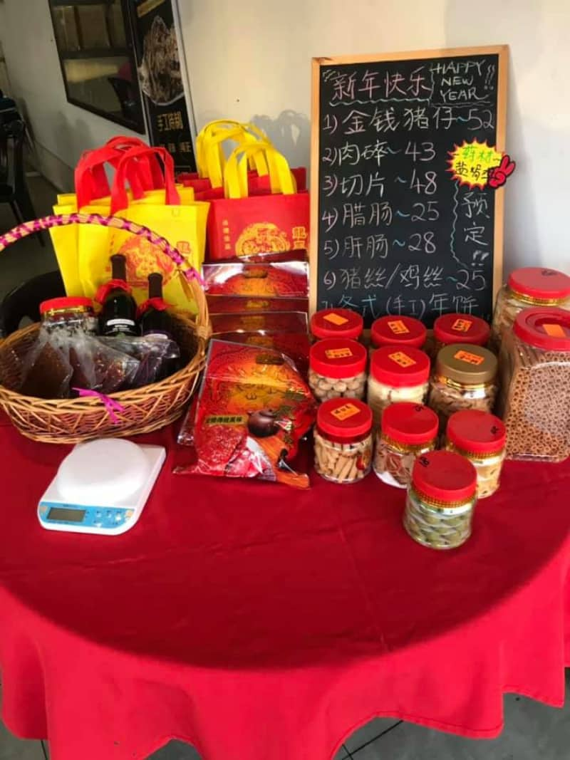 Business is booming for a bak kwa seller on the east coast of Peninsular Malaysia.