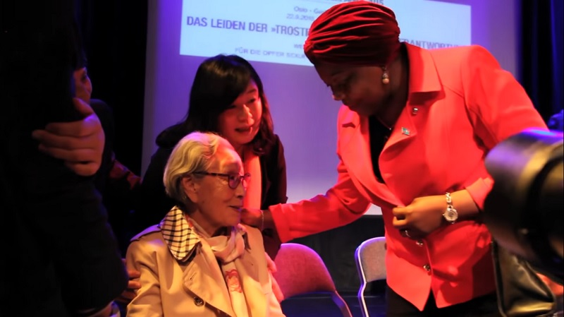 """Kim Bok-Dong, a vocal """"comfort woman"""" who gained international fame for her human rights activism and for raising awareness on sex slavery issues, dies at the age of 92."""
