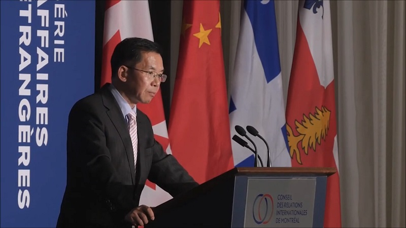 "Lu Shaye, China's ambassador to Canada, has accused the country of double standards and adapting ""Western egotism"" and ""white supremacy"" for demanding the release of the two detained Canadian diplomats in China following the arrest of top Hwawei Technologies executive."