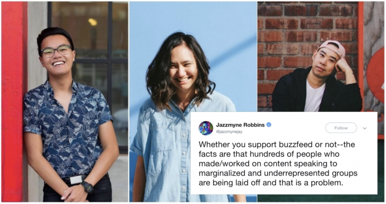 Buzzfeed is Being Accused of Laying Off Mostly POC and LGBT