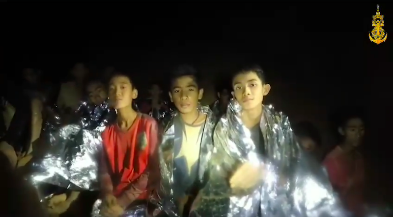 Thai Cave Boys Were Dr‌‌ug‌g‌e‌d and ‌Han‌dc‌uff‌ed During Rescue, Book Claims
