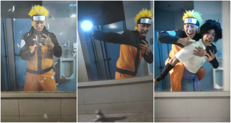 Game Over ? This Man Just Won the 'Naruto' Mirror Run Challenge