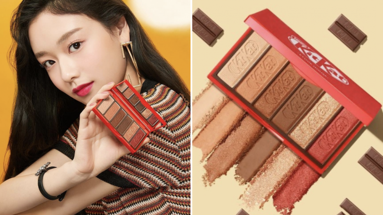 Korean Brand Launches Kit Kat Makeup Line That Actually Looks Delicious