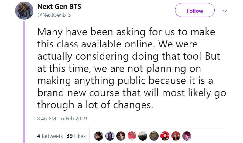UC Berkeley is Offering a Course on BTS