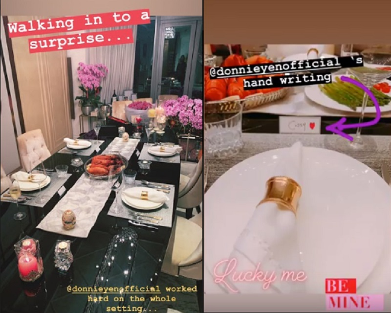 While it is no secret that international action star Donnie Yen has got some serious Valentine's Day game, this year he upped the ante with something extra special for his wife Cecilia Wang.