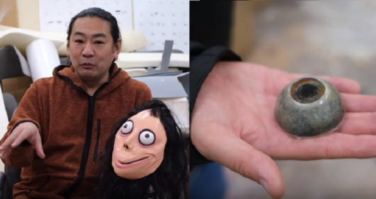 Japanese Artist Who Created 'Momo' Has Destroyed It After