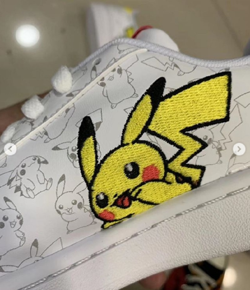 Leaked Images of Pikachu Sneakers Hint