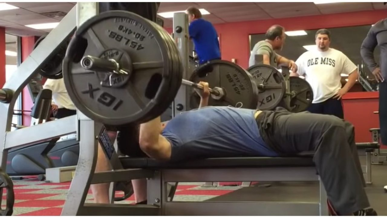 Meet The Asian Man Who Can Bench Press Over 250 His Own Weight