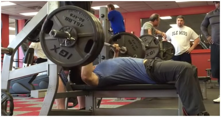 Meet the Asian Man Who Can Bench Press Over 250% His Own Weight