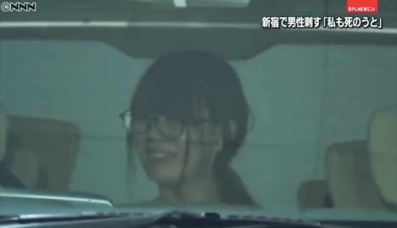 A 21-year-old Japanese woman from Shinjuku district, Tokyo was recently arrested after she nearly stabbed her male acquaintance to death in her apartment.