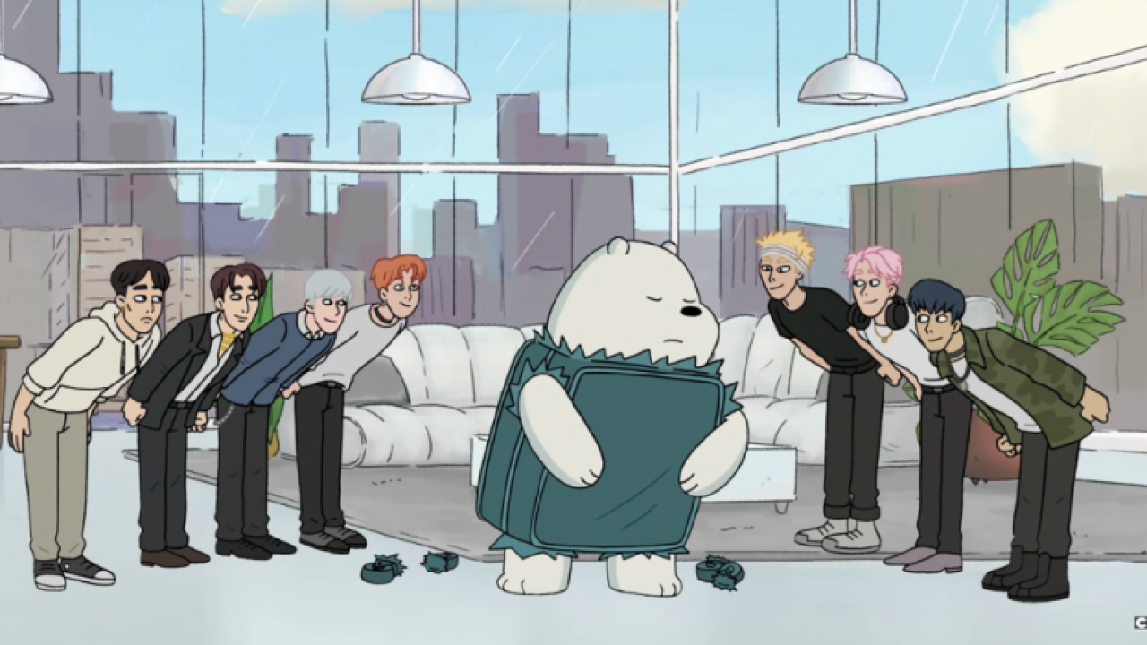 Image result for monsta x we bare bears