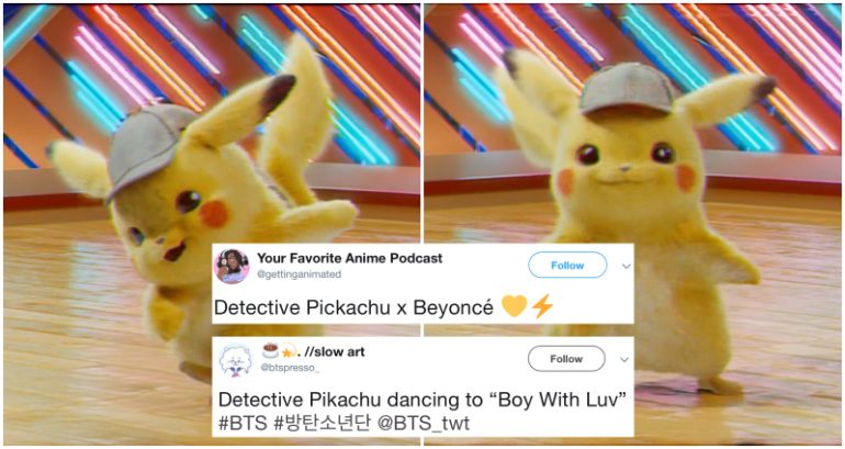 Leaked Screener' for 'Detective Pikachu' is Now a Viral Meme and