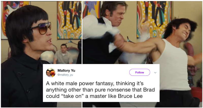 People Aren't Happy That Brad Pitt Thinks He Can Take On Bruce Lee in Tarantino's New Film Trailer (Once Upon a Time in Hollywood)
